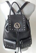 NWT Valentino By Mario Valentino Simeon Studded Backpack VA9544 BLACK AUTHENTIC