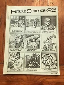 1986 FUTURE SCHLOCK #26 INTERLAC Zine   Great Comments!