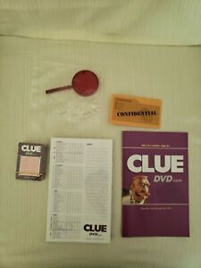 NEW 2006 Hasbro Clue DVD Game Replacement Pieces Parker Brothers