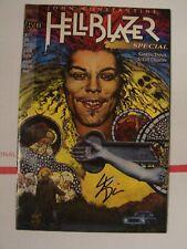 Hellblazer #1 special marvel comics signed by Steve Dillon No COA or CGC