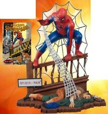 Polar Lights 1/8 The Amazing Spiderman Comic Book Diorama Scene Model Kit # 855