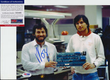 Steve Wozniak Apple Signed Autograph 8x10 Photo W/ Steve Jobs PSA/DNA COA #2