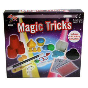 Magic Tricks Set For Kids Includes Cards Magic Wand Hat Age 6+