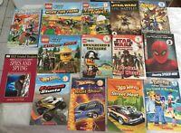 SCHOLASTIC READERS - DK & DC BKS - LEGO/STAR WARS/HOT WHEELS/SPIDERMAN/POKEMON