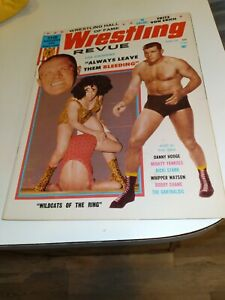 Wrestling Revue Magazine April 1966 Von Stroheim On Cover, Very Good
