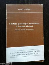 IL METODO GNOSEOLOGICO NELLA FILOSOFIA DI PASQUALE GALLUPPI - Michele Filipponio