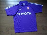 Fiorentina Jersey Shirt adidas 100% Original Men's S 2004/2005 Home