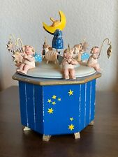 Vintage Moon Music Box – Early 1950s Steinbach (German) with a Swiss Thorens