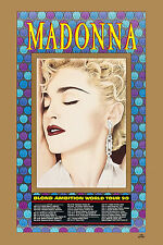 MADONNA : * Blond Ambition * World Tour Poster 1990