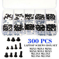 300pcs 10 Size Screw Set Screws Box for Universal Laptop PC Computer Repair Kit