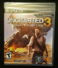 Uncharted 3 Drake's Deception NEW factory sealed Playstation 3 PS3 (AA2-2)