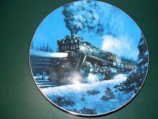 "Knowles ""The Empire Builder"" Plate- Artwork By R.E. Pierce No.8421"