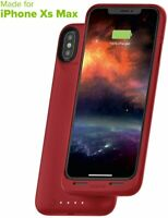 mophie Juice Pack Mfi Certified Protective Battery Case for iPhone XS MAX Red