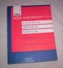 92 CHEVROLET  LUMINA  SERVICE  MANUAL  VOL 2  DRIVEABILITY & EMISSIONS