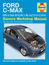 4900 Haynes Ford C-MAX Essence & Diesel (2003 - 2010) 53 To 60 workshop manual
