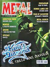 Metal Shock 417/2004 King Diamond Ronnie James Dio Metal Church Pentagram Mortii