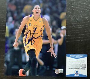 CANDACE PARKER signed Chicago Sky WNBA 8X10 photo BAS COA Autograph COA #BA30289