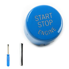 For BMW F16 F22 1/2/3/4/5/6/7 Series Blue Engine Start Stop Switch Button Cover