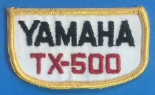 Yamaha 250 patch Vintage Embroidered 1970s NOS DT250 MX250 YZ250 TT250 RD250