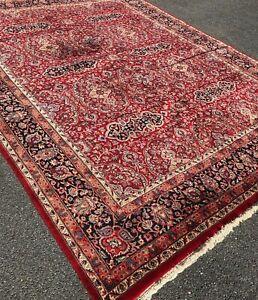 Fine Quality Handmade In India New Oriental Area Rug, Geometric & Tribal, 9x12