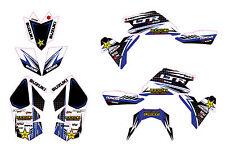 Suzuki LTR 450 ATV stickers decals graphics kit 2006-2014 graphic kit stickers