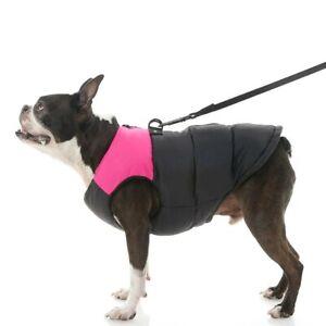 Gooby - Padded Vest, Dog Jacket Coat w Zipper Closure