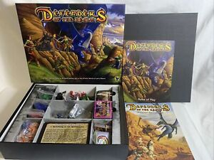 Defenders of the Realm Board Game with Dragon Expansion - read discription