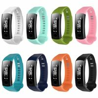 Replacement Band Silicone Sport Bracelet Strap For Huawei Honor 3 Watch TOP