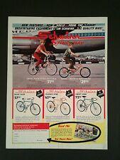 1967 Schwinn Ram's Horn Fastback~Midget Sting~Ray~Racer Bicycle Bike Print Ad