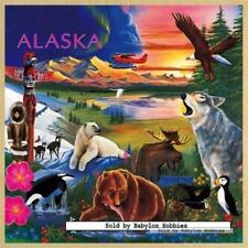 48 pcs jigsaw puzzle: Wooden Puzzles - Alaska Wildlife (United States, Animals)