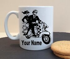 SCOOTER SKA NAME CLUB PERSONALISED MUG CUP BIRTHDAY MOTHERS FATHERS DAY GIFT