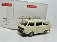 Wiking 1:87 VW T3 Bus OVP 0800 14 Taxi