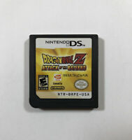 Dragon Ball Z: Attack of the Saiyans (Nintendo DS, 2009) Fast Free Shipping