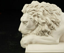 Marble Lion Sculpture, Classical Sculpture, King of the Jungle, Art, Gift.