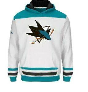 NHL San Jose Sharks Hooded Sweatshirts Youth Sizes NEW