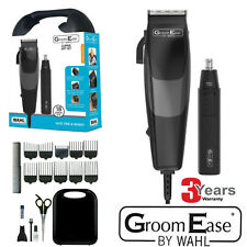WAHL 79449-317 Complete Mains Hair Clipper GiftSet Beard Trimmer HairCuttingKit