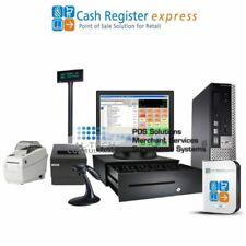 pcAmerica Cre Cash Register Express Convenience Store Pos System I3 Cpu 4Gb Ram
