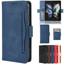 For Samsung Galaxy Z Fold 3 2 5G Case Magnetic Leather Removable Wallet Cover