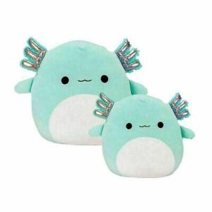 Kids Toys Stuffed Plush Axolotl Teal Green Anastasia Doll GiftSoft Squishmallow
