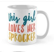 Sprocker Spaniel Mug, Ideal gift for any Lover Spaniels.