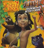 Brand New The Jungle Book Jumbo Coloring & Activity Fast Shipping Kids Color