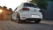 VW Golf 6 GTI Diffusor Heckansatz Heckdiffusor Stoßstange Golf VI GTD R20 R32
