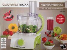 Gourmetmaxx Küchenmaschine 3in1 Mixer ,Hacker und Raspel Smoothie