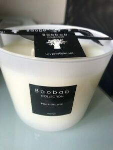 Baobab candle 4 wicks new with box and bow
