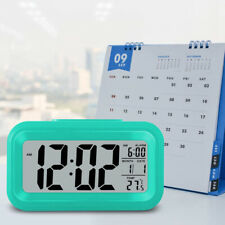 Snooze Bedroom Backlight Electronic Thermometer Calendar Timer Alarm Clock