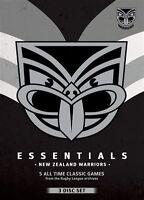 NRL - Essentials - New Zealand Warriors (DVD, 2013, 3-Disc Set) - Region 4