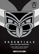 NRL - Essentials - New Zealand Warriors (DVD, 2013, 3-Disc Set)