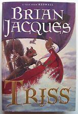 TRISS Brian Jacques Redwall HC DJ ILLUS David Elliot 2002 1st Ed - W1