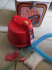 Aspirateur rouge, jamais utilisé, Rays, années 80 - Cavahel Vintage