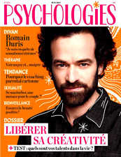 PSYCHOLOGIES n°373 MAI 2017***Romain DURIS**Menace MASTURBATION**Beauté POSITIVE